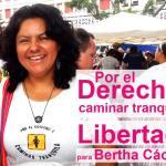 La autoridad golpista de Honduras dicta auto de prisión para Bertha Cáceres, coordinadora del COPINH y defensora de los DerechosHumanos.
