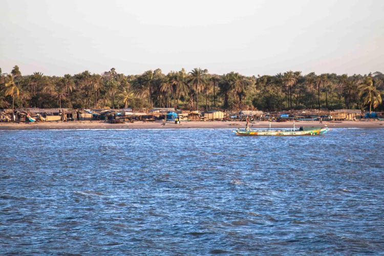 Un pueblo de pescadores a la orilla del río Casamance